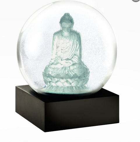 Crystal Buddha Snow globe - Cool Snowglobe - Pure Placid