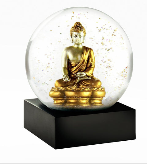Gold Buddha Snow Globe - CoolSnowGlobe - Pure Placid