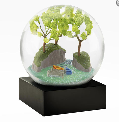 Summer By The Lake Snow Globe - Pure Placid