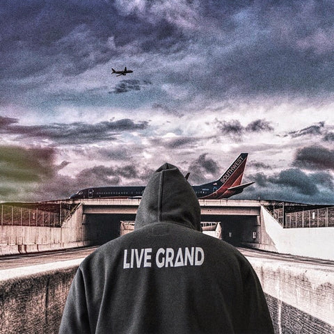 Grey Live Grand Hoodie - Grand Supply Co.