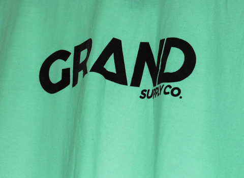 Grand Mint Sample T-Shirt - Grand Supply Co.
