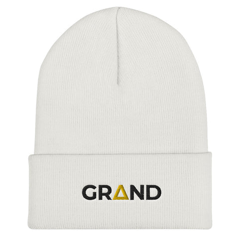 Grand OG White Beanie | Grand Supply Co.