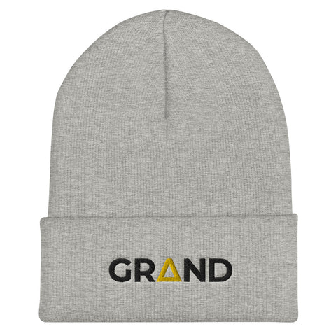 Grand OG Grey Beanie | Grand Supply Co.