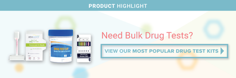Most Popular Drug Test Kits Banner