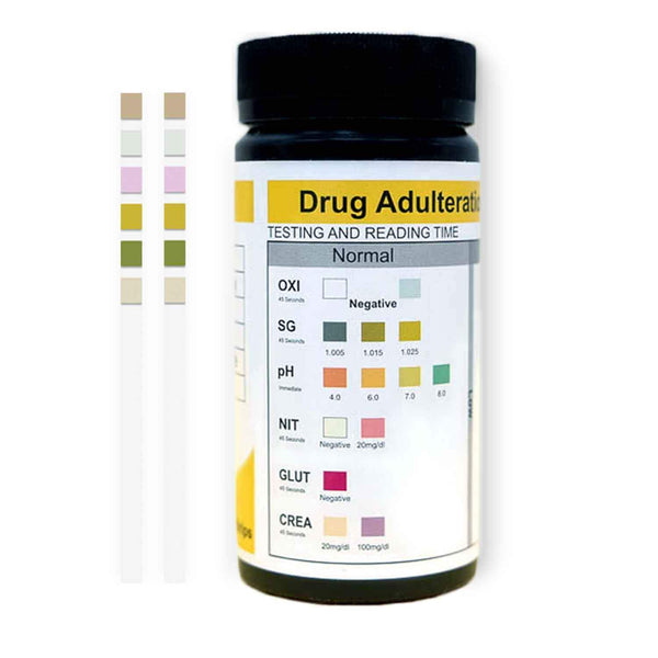 Urine Drug Test Adulteration Test Strips (25 Pack)-TestCountry