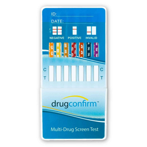 14 Panel DrugConfirm™ CLIA Urine Drug Test Dip Card