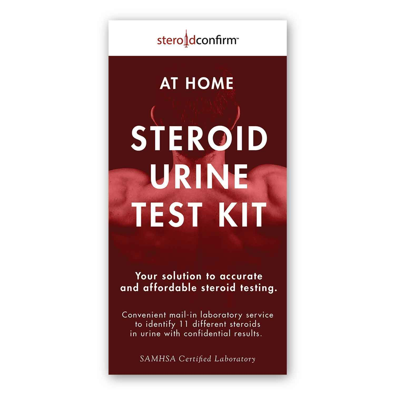 SteroidConfirm™ Home Steroid Test Kit