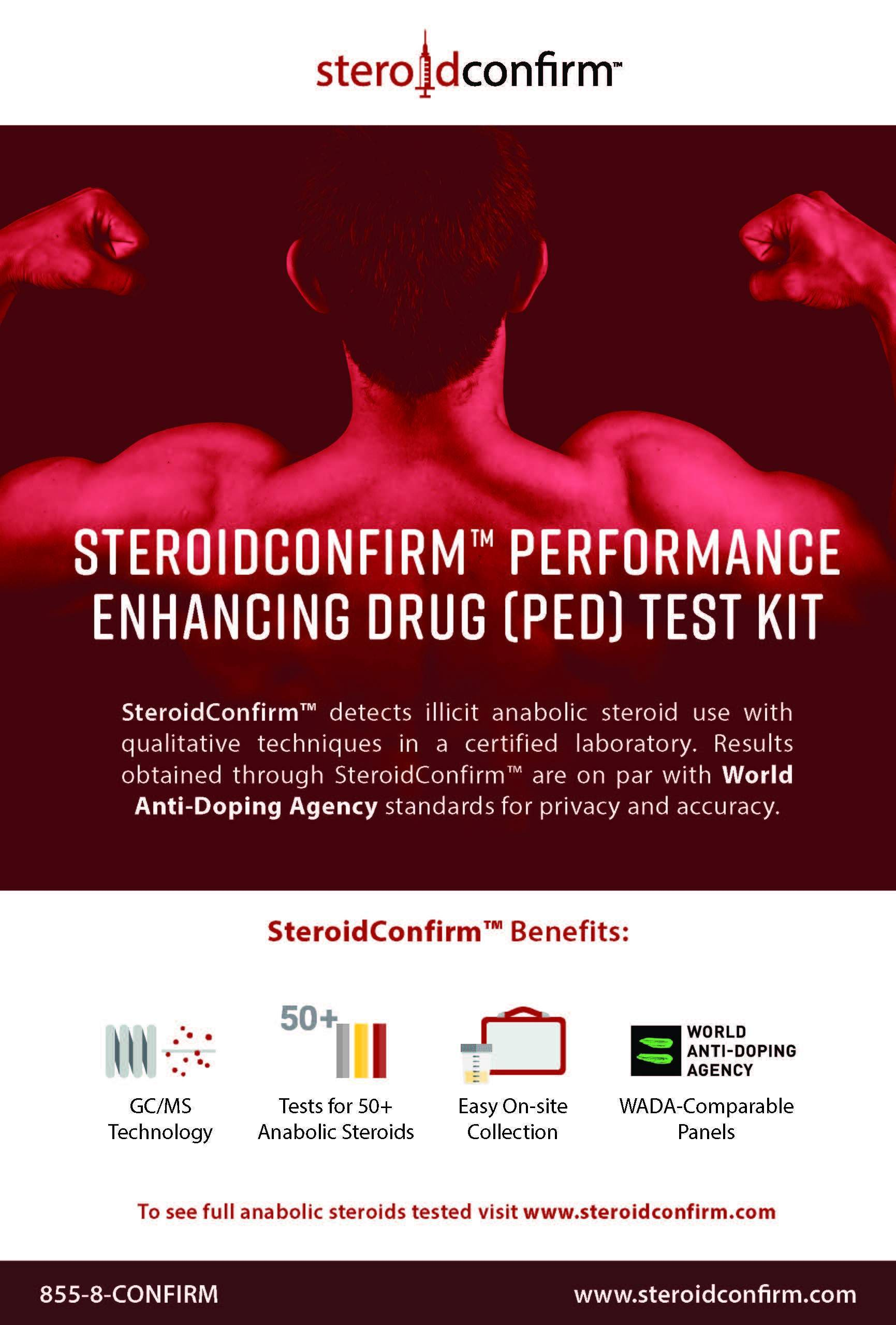 steroid confirm