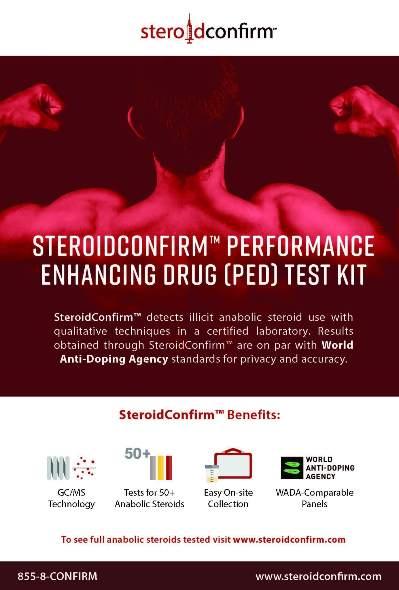 SteroidConfirm™ Business Test Kit