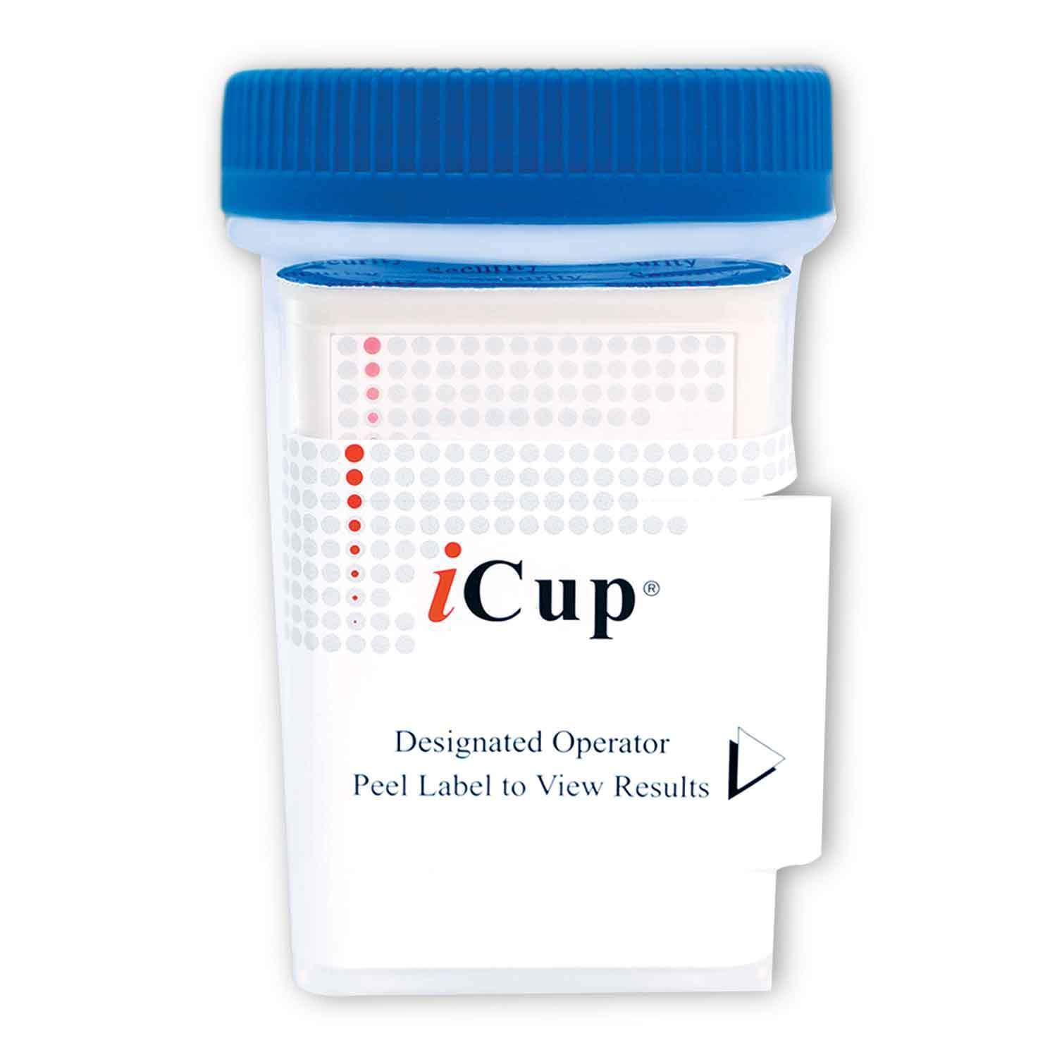 12 Panel iCup Urine Drug Test Cup with Adulterants
