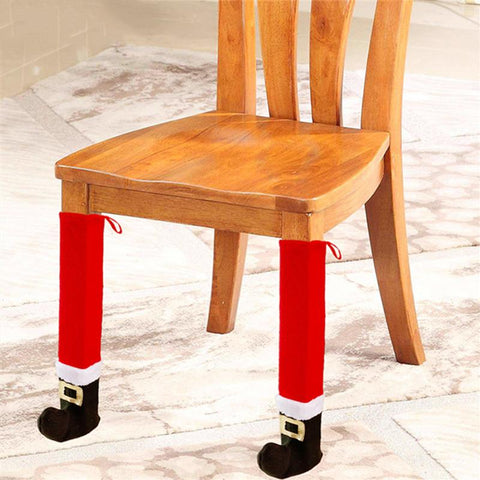 Christmas Chair Leg Table