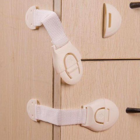 Plastic Locks- 10 Pcs