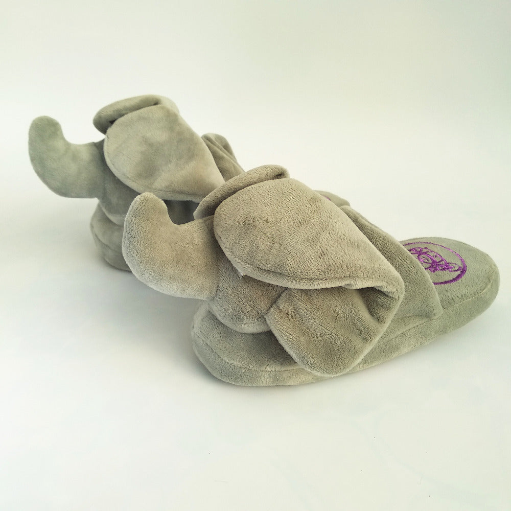 Slippers Peek A Boo Elephant