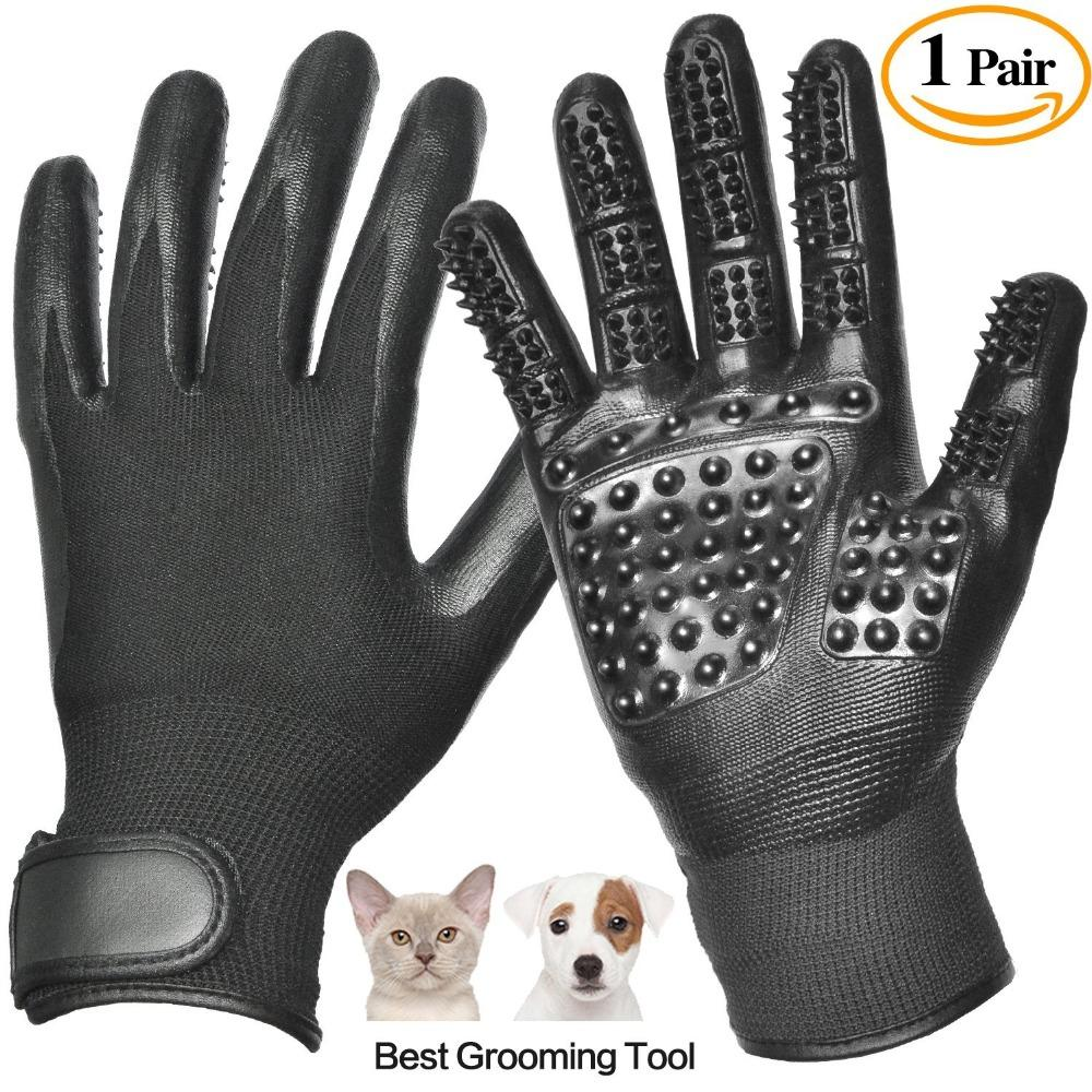 Pet grooming Gloves by Selcany