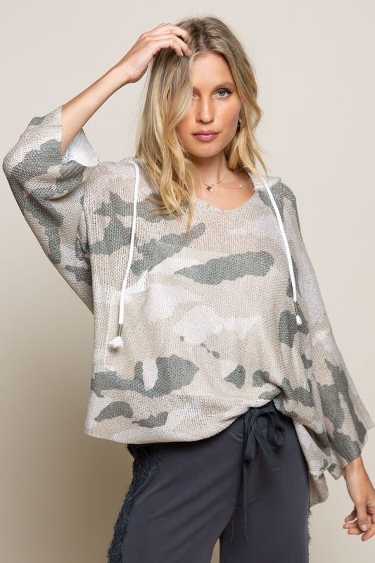 Camo Light Weight Top