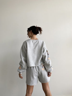 Butterfly Pullover - H Grey