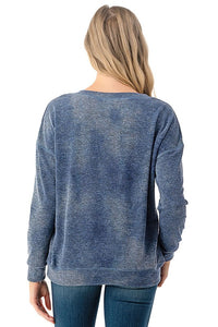 Sweater Top - Blue