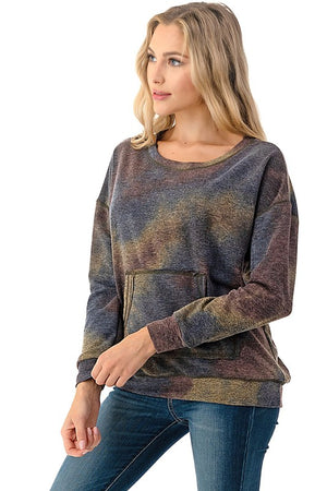 Sweater Top - Brown
