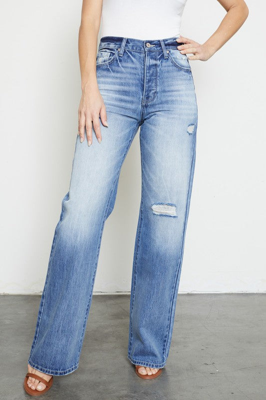 Ultra High Rise Flare Jeans