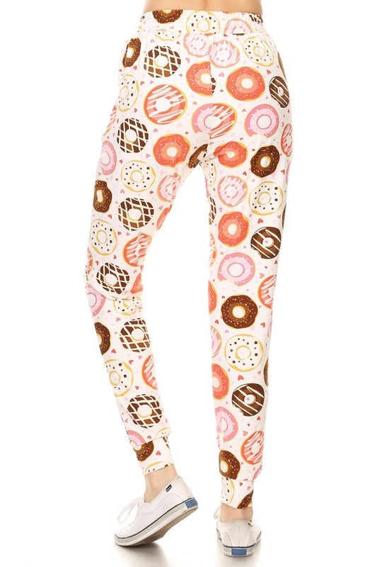 Donut Printed Joggers