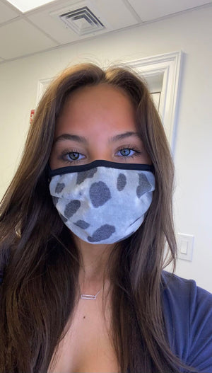 Face Mask - Spotted
