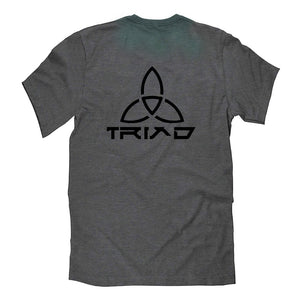Triad Official Drift Trike Brand Graphic T-Shirt in Grey