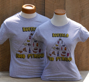 Adult Food Pyramid T-Shirt
