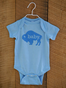 Hometown Onesie in Baby Blue