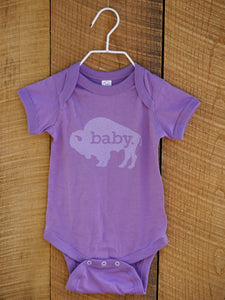 Hometown Onesie in Dark Lavender