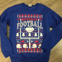 Buffalo Football Holiday Sweatshirt