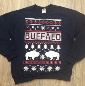 Buffalo Holiday Sweatshirt