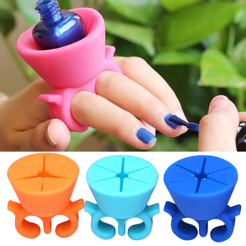 Nail Polish Holder Ring