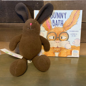 Stuffed Bunny and Book: Bunny Bath