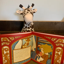 Stuffed animal and Book: Sewing the Magic In