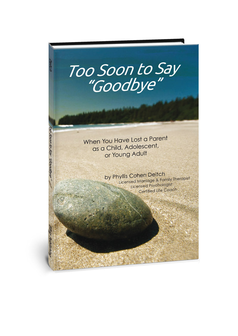 Too Soon To Say Goodbye Eifrig Publishing