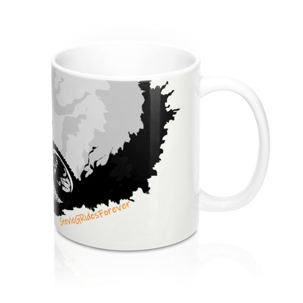 StevieGRidesForever Mug (orange)