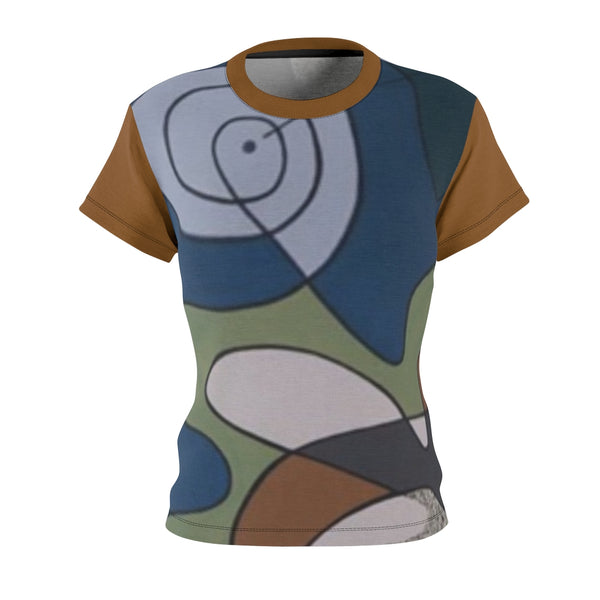 WOMEN'S ABSTRACT T