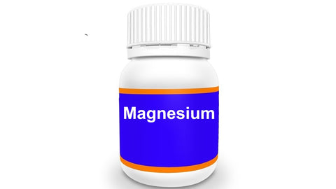 Bottle of Magnesium