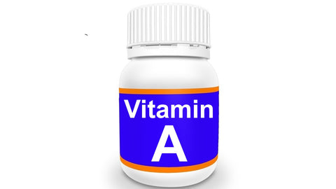 Bottle of Vitamin A