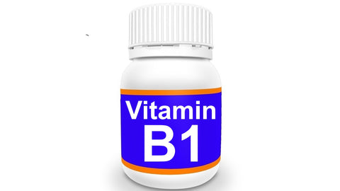 Bottle of Vitamin B1