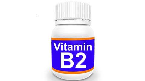 Bottle of Vitamin B2
