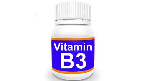 Bottle of Vitamin B3