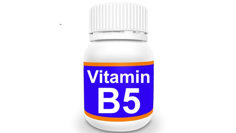 Bottle of Vitamin B5