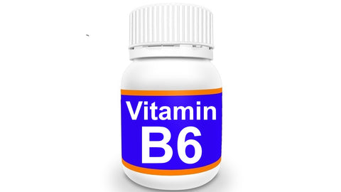 Bottle of Vitamin B6