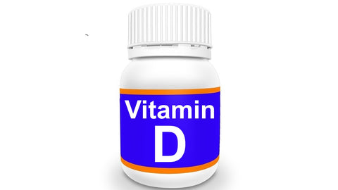 Bottle of Vitamin D
