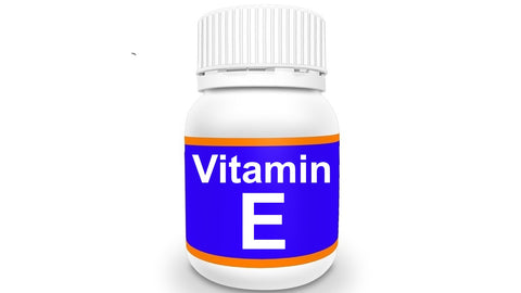 Bottle of Vitamin E