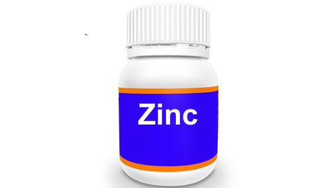 Bottle of Zinc