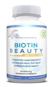 Lunva Biotin Beauty 10,000mcg Dietary Supplement