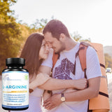 Lunva L-Arginine Dietary Supplement with happy couple