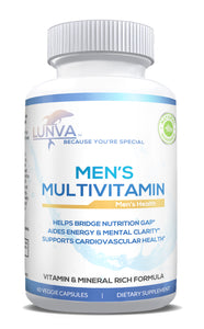 Lunva Multivitamin for Men Dietary Supplement